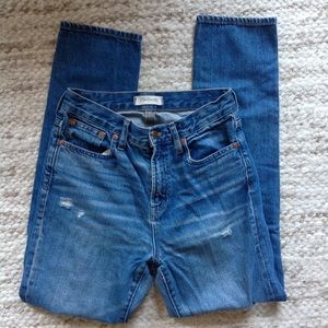 Madewell Perfect Vintage Jean Mom Jeans 26 cotton